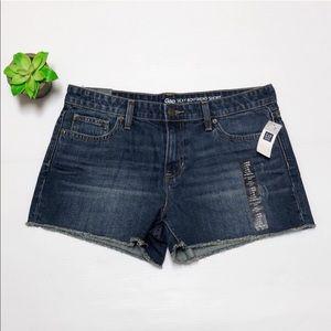 GAP frayed girlfriend jeans